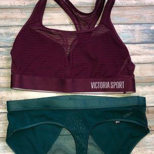 2 Victoria Secret Sports Bras